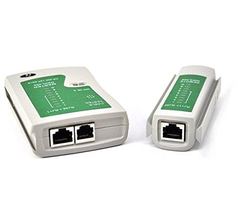 jooks Netzwerkkabel-Tester LAN RJ45RJ11N21CL Ethernet Line Werkzeug PC Kabel Tester Internet Breitband Anschluss fähig Testen Werkzeug Netzwerk-Kabel-Test Tool -