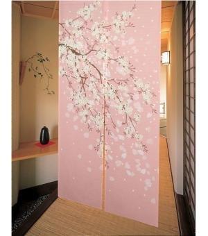 motivo-ciliegio-in-fiore-giapponese-noren-doorway-curtain-decorazione-per-porta