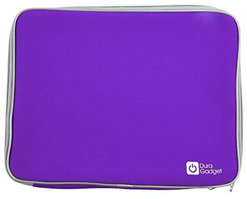 DURAGADGET Funda De Neopreno Morada Compatible Con Ordenador portátil y tablet educativo VTech - Genio Little App - Resistente Y Duradera