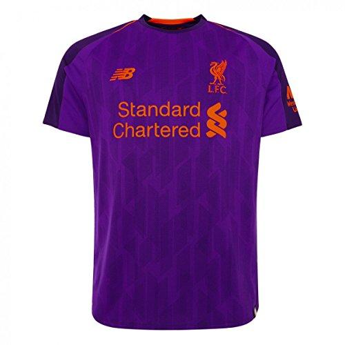 New Balance Men's LFC Away Short Sleeve Football Jersey
