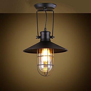 Lampe Industrielle Suspension Triple Piattino Amazon Fr