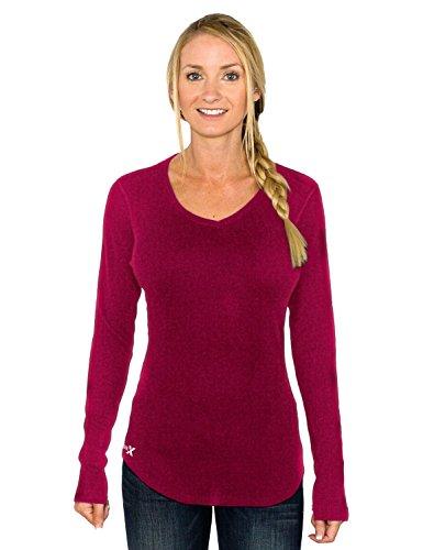 Women's Merino Wool Tunic Top by Woolx - Midweight Merino Tunic Sweater