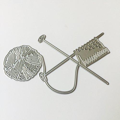 Mikiya Stanzformen Cutting Dies Geschenke des Strickenden Mutter-Tages Stanzformen-Schablonen-Foto-Album-Dekor-Kartenherstellung - Bid-tag-taschen