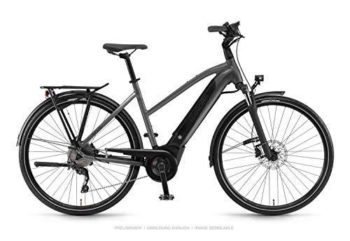 Winora Sinus i9 500 Damen Pedelec E-Bike Trekking Fahrrad grau 2019: Größe: 48cm