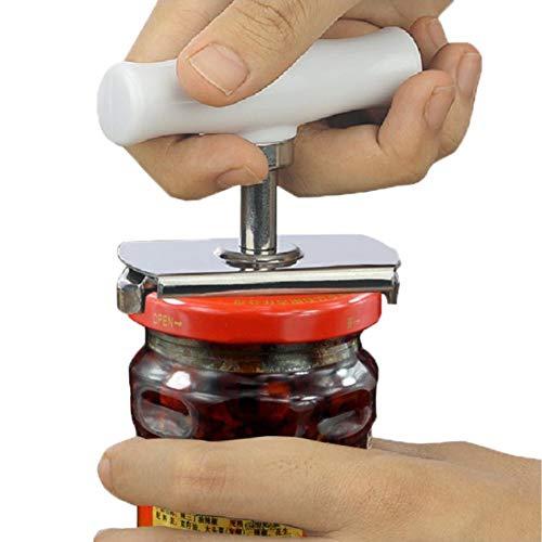 Sunshay Flaschenöffner Glasöffner für Flaschen und Einmachgläser für Senioren Arthritis Frauen Ältere Kinder