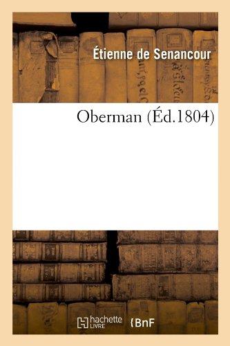 Oberman (Éd.1804)