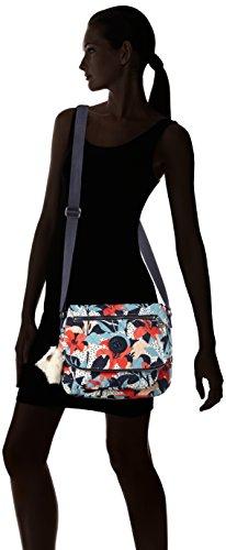 Kipling - Irena, Borse a tracolla Donna Multicolore (Pastel Lily Qlt)