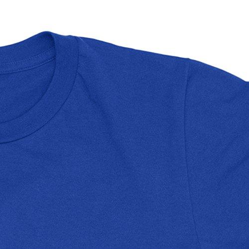 Herren-T-shirt Linkin Park - New Logo White Print Rock 100% baumwolle LaMAGLIERIA Blu