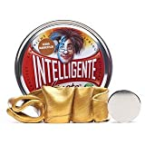 Intelligente Knete - ferromagnetisch Gold inkl. Magnet - Thinking Putty