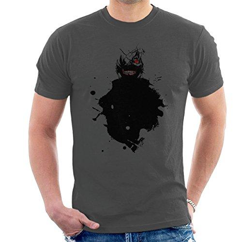 Kaneki Paint Splatter Tokyo Ghoul Men's T-Shirt