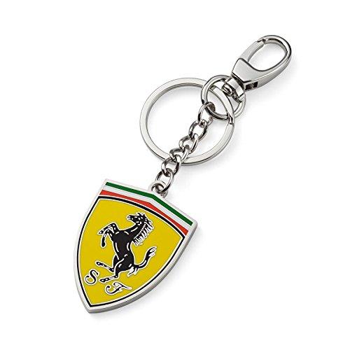 Ferrari Schlüsselanhänger Shield Silber one Size