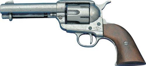 Denix Erwachsene Revolver-Armee 45 USA 1886 Gefälschte Waffenreplik, schwarz, One Size (Cowboy-action-holster)