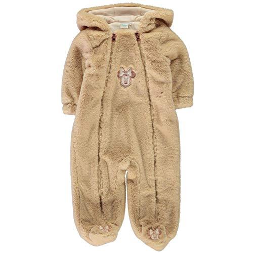 Character Wear Minnie Maus Gemütliche Fleece Strampelanzug Baby Mädchen Gelb All-In-One - Gelb, 0-3 Monate