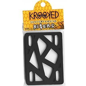 'Krooked–Skate Pads Krooked Pads 1/4Black–Erwachsene