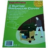 Heavy duty 3 burner gas Barbecue cover (UV Treated)