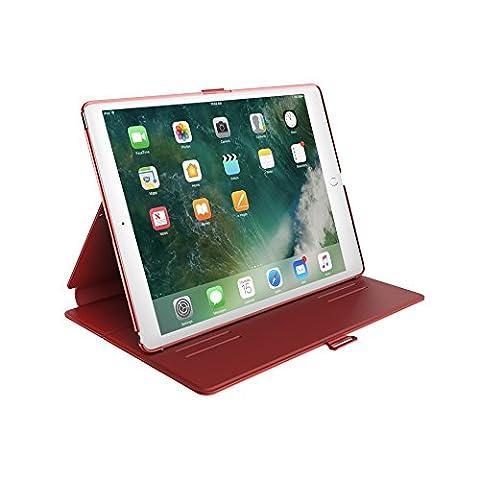 Speck Balance Folio Coque pour iPad 9.7 Pouces (2017) - Rouge Coquelicot/Rouge Velours