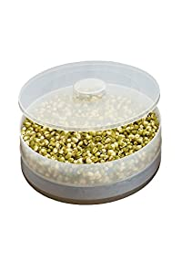 UMATH Sprouter Hygenic Sprout Maker Fresh sprouts large bowls - Beans, Pulses Sprouts Healthy Life syle