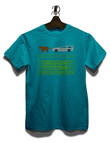 Delorean Trail T-Shirt Türkis