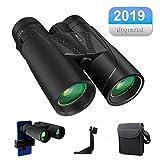 HD Binoculars, 10x42 Roof Compact Binoculars for Adults Bird Watching, Travel, BAK4 Prism