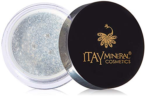 Itay Beaute Mineral Paillette Corps Silver G10+Cala Pinceau Bambou Bio !