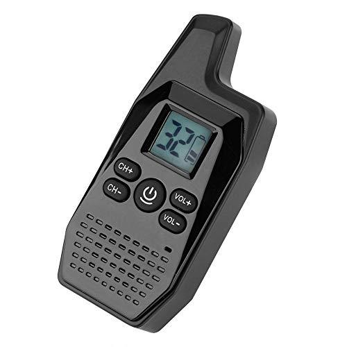 Eboxer Mini Portable USB Walkie Talkie Zwei-Wege-Radio mit USB-Netzteil Ohrhörer Kopfhörer LED Monitor -
