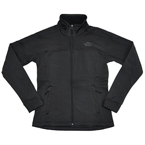 The North Face Womens 200 Cinder Fleece Mock Neck Jacket (S, Black) … (Face Mock North)
