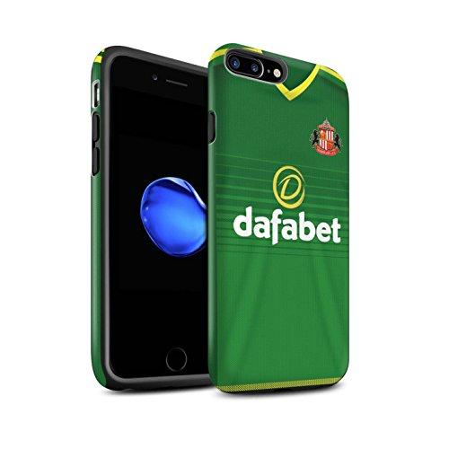 Offiziell Sunderland AFC Hülle / Matte Harten Stoßfest Case für Apple iPhone 7 Plus / Khazri Muster / SAFC Trikot Away 15/16 Kollektion Fußballer