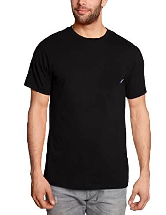 Vans Herren T Shirt Everyday Pocket. Schwarz (Black), XS, VS2SBLK