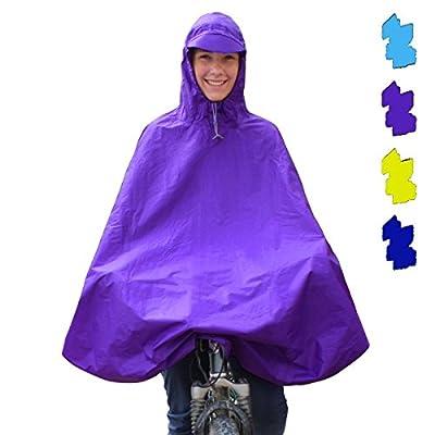 Regenponcho 1 unisex Fahrrad Regenschutz mit Kapuze von BB Sport von BB Sport auf Outdoor Shop