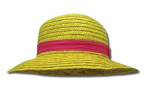 One Piece Luffy paja del sombrero de Cosplay