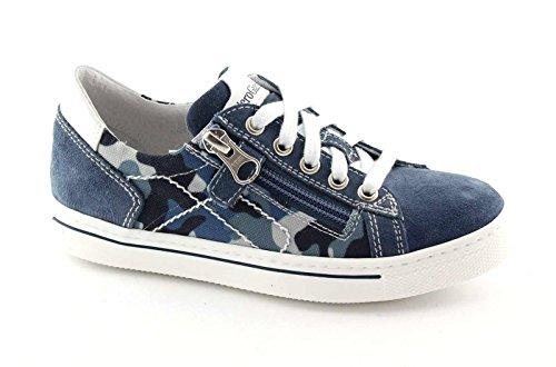 Nero Giardini Black Jardins Junior 30/34 33800 Chaussures de Bébé Bleu Espadrille Lacets Zip