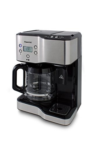 SUNTEC Kaffee- & Teestation KTS-8397 coffee+tea [2 in 1 Station für 1,8 l Kaffe + 1,25 l...