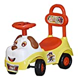 Shreeji Manual Ride on Push Car Toy with Music for Babies, 1-2 Years