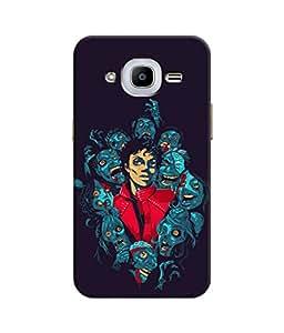 Sketchfab Michael Jackson2 Latest Design High Quality Printed Designer Back Case Cover For Samsung Galaxy J2 (2016)