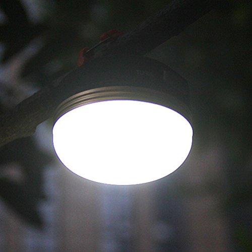 LEDMOMO LED Camping lanterne USB rechargeable tente lumières portable poignée de secours de lumière imperméable à l'eau de voyage avec 3 modes