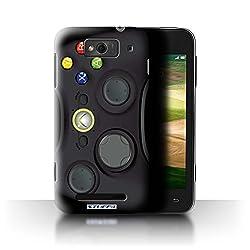 Stuff4 Phone Case Cover For Xiaomi Mi 1s Black Xbox 360 Design Games Console Collection