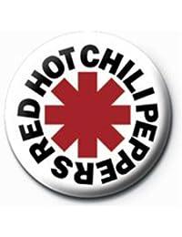 Empireposter Bouton de cravate de 2,5cm de diamètre Motif: logo des RHCP