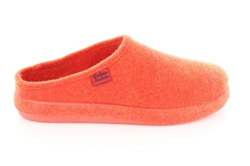 Andres Machado.AM001.AUTHÉNTIQUES chaussons MADE IN SPAIN Unisex.Petites et Grandes Pointures. 26/50 Orange