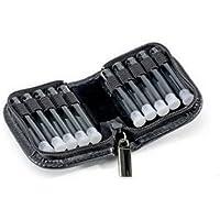 Homöopathie Taschenapotheke Klassik mit 10 Klargläsern Leder schwarz für Globuli preisvergleich bei billige-tabletten.eu