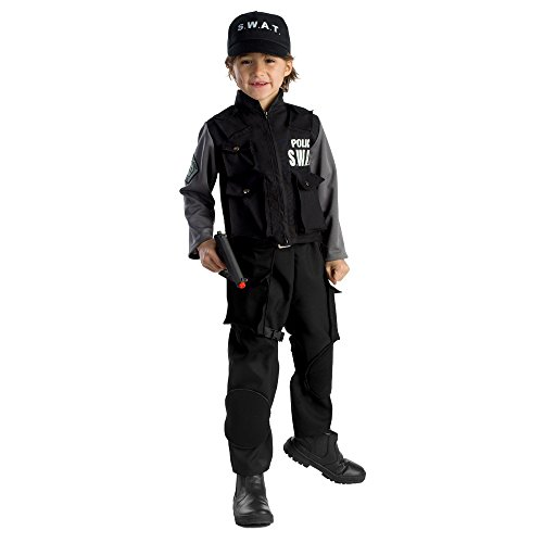 Swat-team Hose (Dress Up America Kinder Jr. SWAT Team Kostüm)