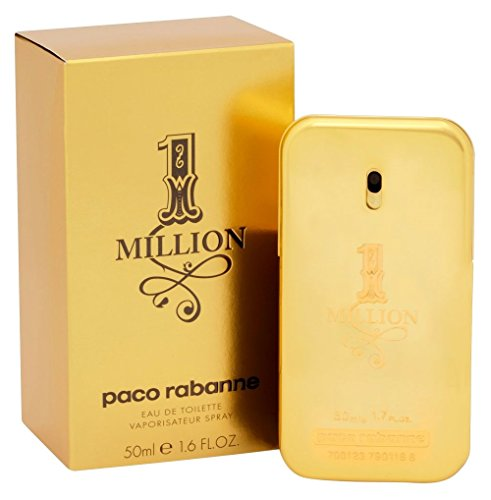 Paco Rabanne One Million homme / men, Eau de Toilette, Vaporisateur / Natural Spray 50 ml, 1er Pack (1 x 50 ml)