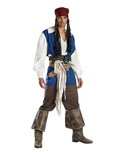 Horror-Shop Captain Jack Sparrow Kostüm Extra Large