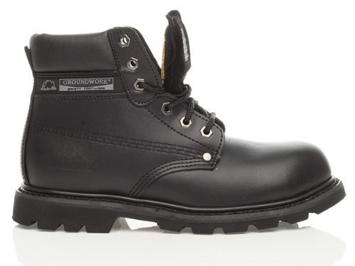 new-mens-groundwork-lace-up-steel-toe-safety-ankle-boots-size-uk-7-8-9-10-11-black-uk-size-8