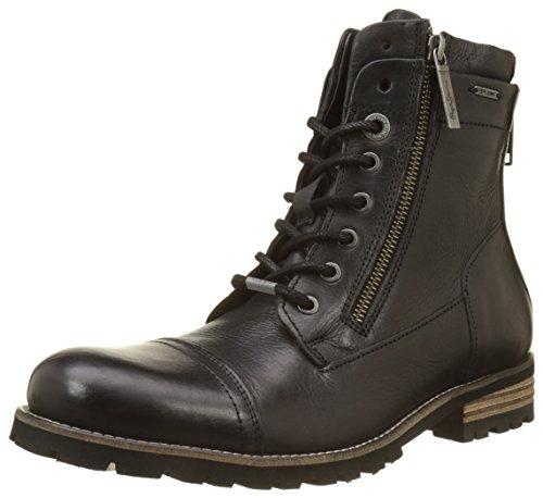 Pepe Jeans London Herren Melting Flex Klassische Stiefel Schwarz (Black)