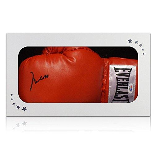 Muhammad Ali Unterzeichnung Boxhandschuh in Geschenk-Box (PSA DNA 3A96864) Ali Boxhandschuhe