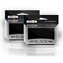 Prestige Cartridge Lexmark No.16 - Pack de 2 cartuchos de tinta remanufacturados, color negro