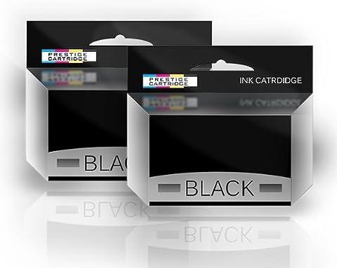 Prestige Cartridge T051 Cartouche d'encre compatible avec Imprimante Epson Stylus Couleur deux Noir