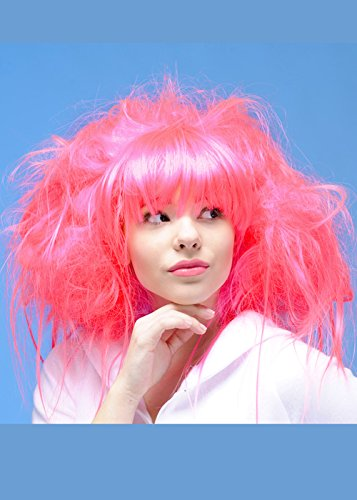 Magic Box Int. Womens Backcombed Neon Pink Prinzessin -