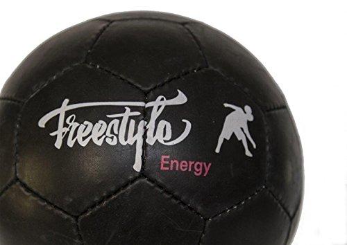 Balón de fútbol freestyle Energy-fútbol Freestyle, negro