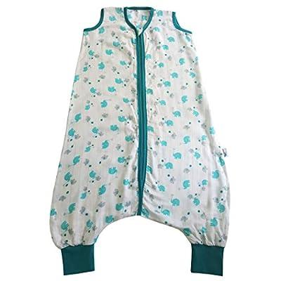 Saco de dormir con pies Slumbersac y mangas largas desmontables grosor 0.5 - disponibles en varios diseños y 6 tallas